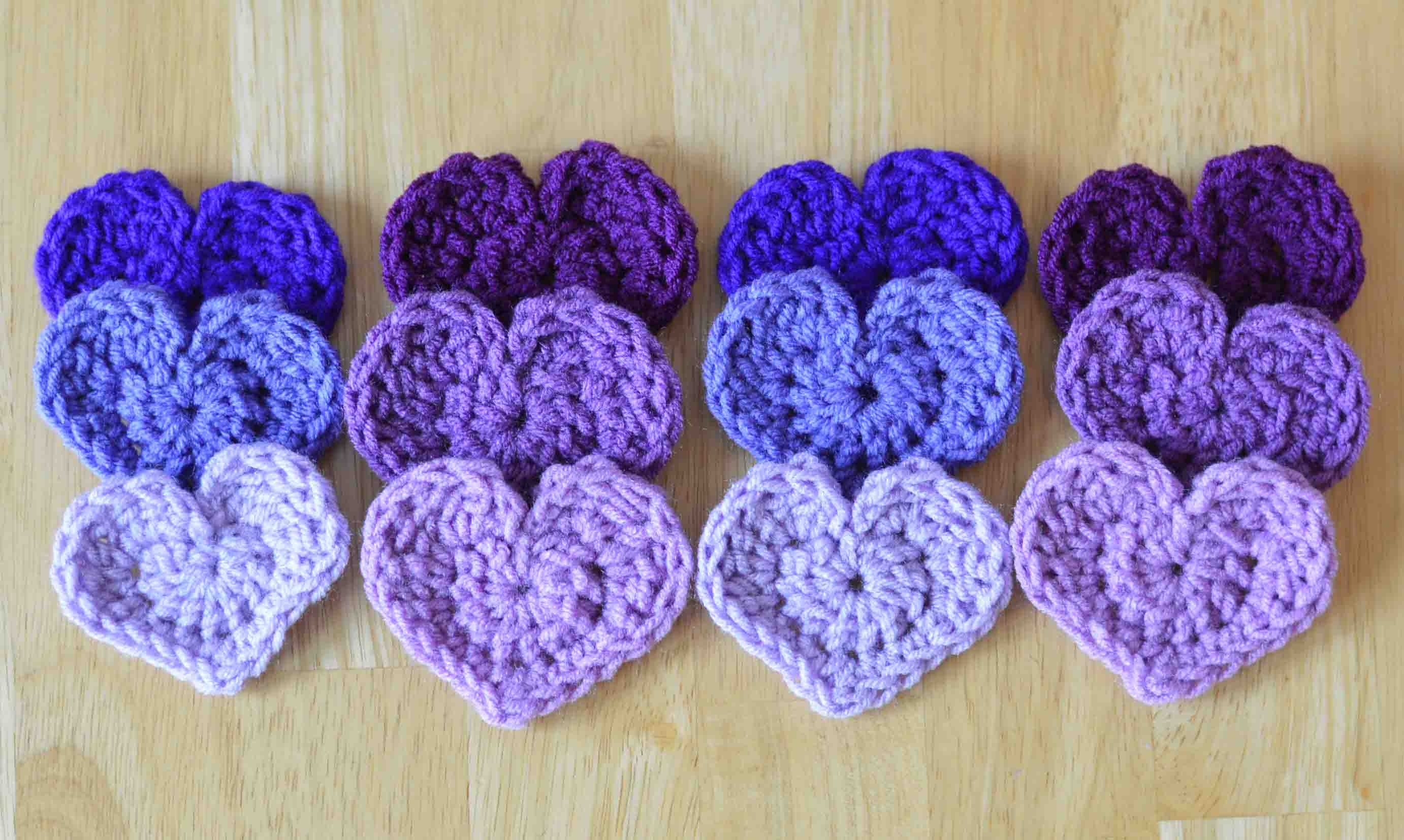 Crochet Patterns Hearts : And by the way, this pattern is a great stashbuster!
