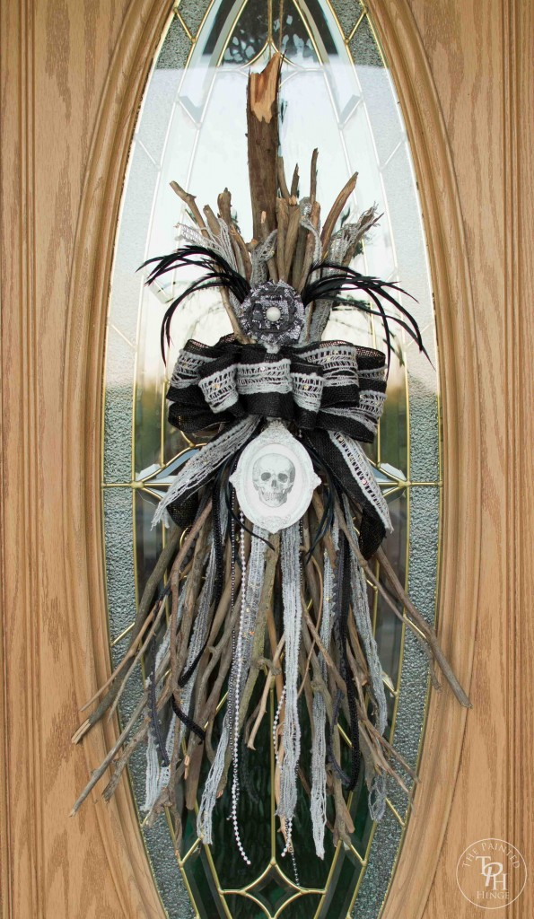 Halloween Witch's Broomstick from The Painted Hinge  | Halloween Favorites at www.andersonandgrant.com