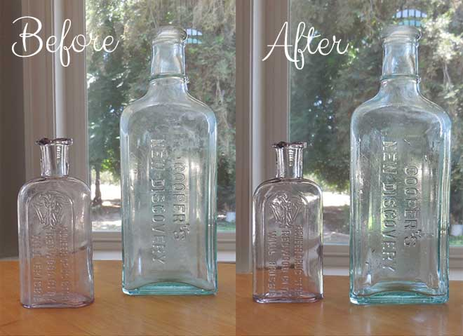 How To Clean Old Bottles The Quick And Easy Way