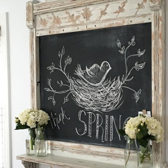 Home Design Ideas Blackboard: Happiness Is Homemade Link Party #167