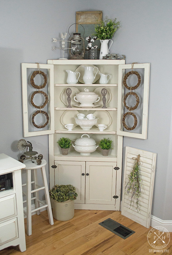 Decorating Ideas For Rentals: Farmhouse Early Spring Decor Ideas