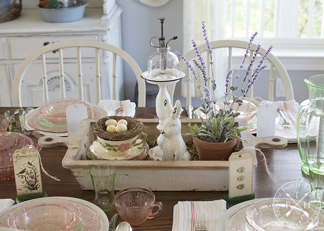 Farmhouse Tablescape Ideas For Spring